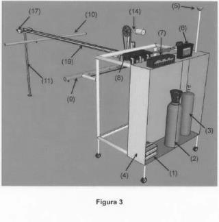 Equipo de aplicación por pulverización portátil controlado por gps para uso docente e investigación.