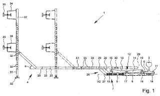 Dispositivo de seguridad para carril y bloqueo de carril con un dispositivo de seguridad para carril.