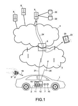 Método de funcionamiento de un terminal de comunicaciones inalámbrico celular comprendido en un vehículo, y un terminal de comunicaciones inalámbrico celular.