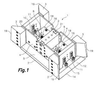 Macho para máquina plegadora de cajas de cartón, perfeccionado.