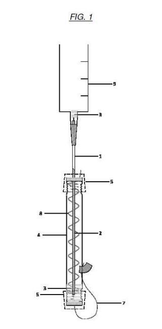 Procedimiento para el recubrimiento de capilares con nanotubos mediante depósito electroasistido y microrreactor configurado para ejecutar dicho procedimiento.