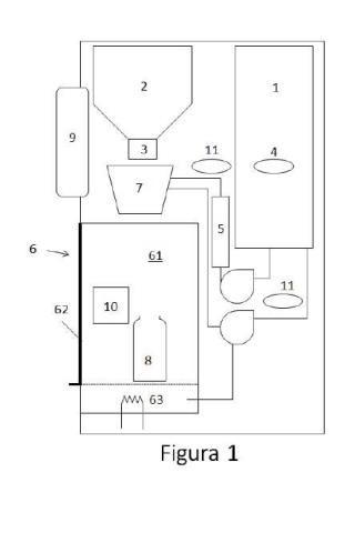 Electrodoméstico y procedimiento para preparación de biberones.