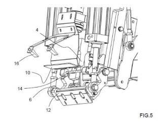 Dispositivo para soldar un saco con válvula y procedimiento correspondiente.