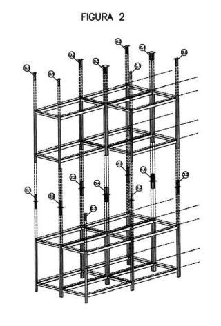 Sistema modular para la construcción de espacios habitacionales y pieza de unión para la ejecución de dicho sistema.