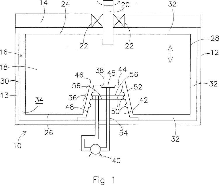 Dispositivo de acumulación de energía inercial.