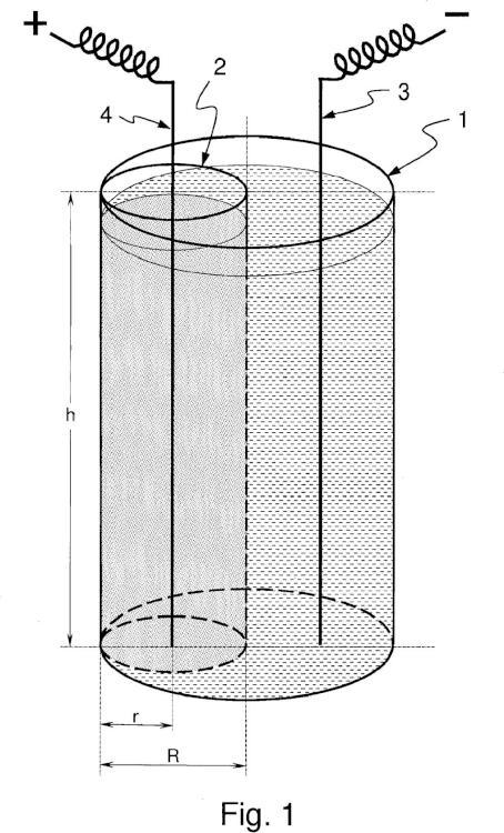 Método para el acondicionamiento de residuos procedentes del desmantelamiento de centrales nucleares.