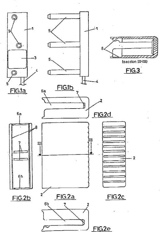 Célula de carga para ascensores y similares.