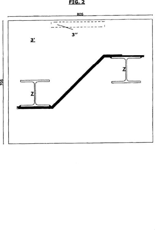 Ilustración 2 de la Galería de ilustraciones de Barrera acústica en la que las partes de cimentación y el poste de elevación están realizados en un único elemento y método de montaje relativo