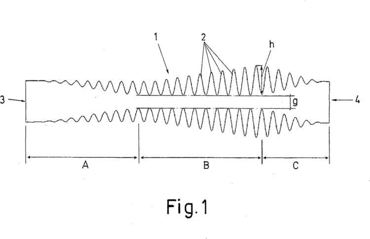 Filtro de paso bajo para señales electromagnéticas.