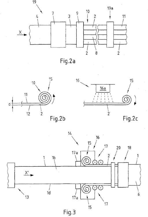 Procedimiento para cantear tableros de material de madera.
