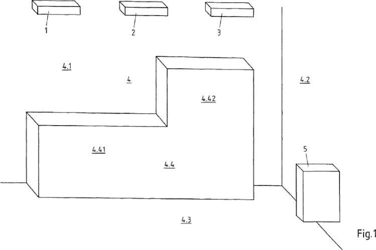 Disposición y procedimiento para la visualización de diseños decorativos en un espacio virtual.