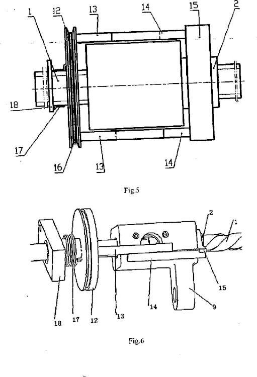 Un mecanismo de bloqueo helicoidal pasivo para puerta.