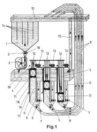 Sistema hidráulico para producción eléctrica.