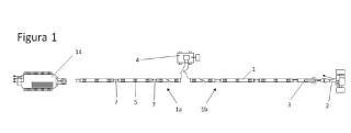Sistema combinado para la adquisición de las velocidades de ondas de compresión y de ondas Rayleigh y para la generación de secciones Vs, Vp y de parámetros geomecánicos del subsuelo.