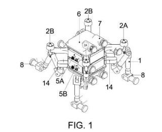 Robot submarino modular.