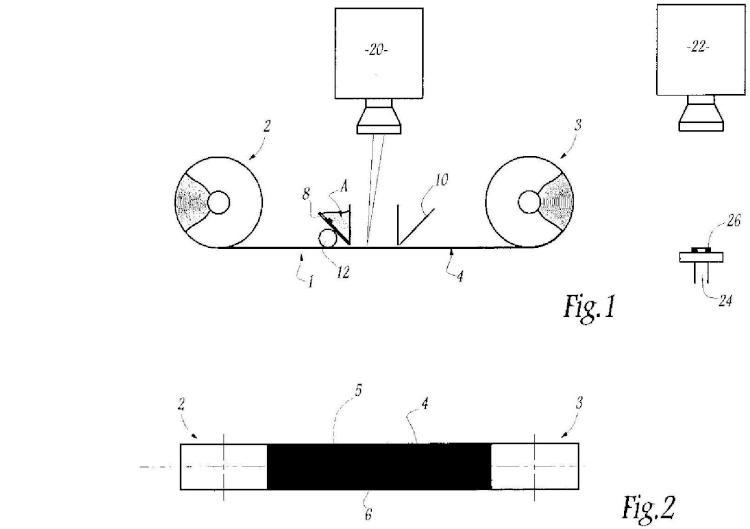 Procedimiento de realización de un objeto por tratamiento láser a partir de al menos dos materiales pulverulentos diferentes e instalación correspondiente.