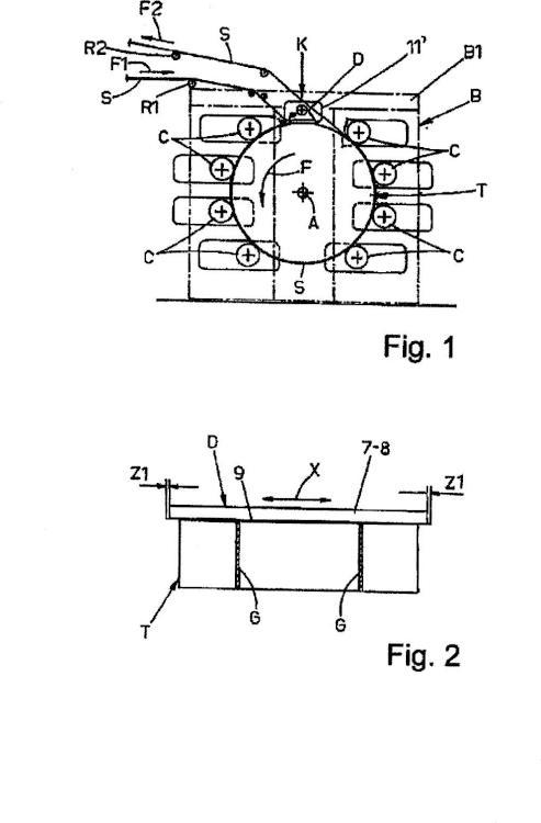 Aparato y método de limpieza rápida de un tambor central de máquinas de impresión flexográfica.