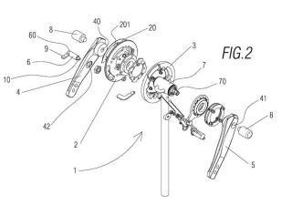 Mecanismo tractor para un sistema auxiliar de movilidad para una silla de ruedas.
