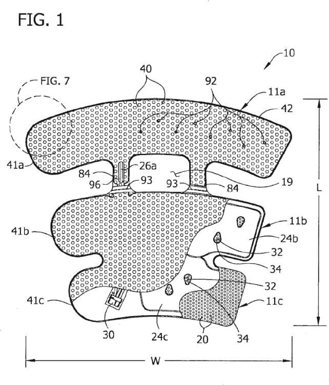 Dispositivo de compresión con una parte amovible.
