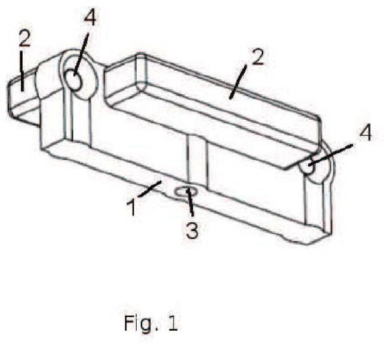 Dispositivo de fijación de tarimas.