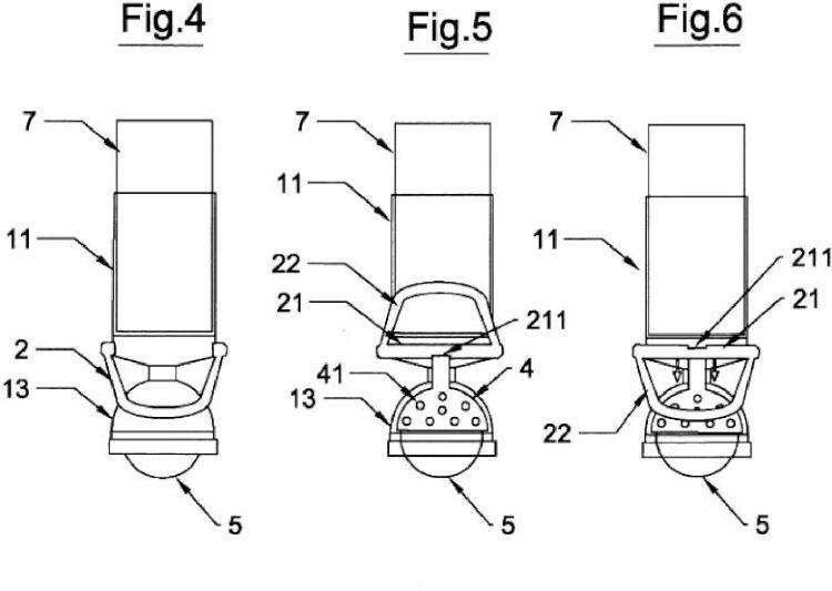 Dispositivo para desplazamiento de mobiliario pesado.