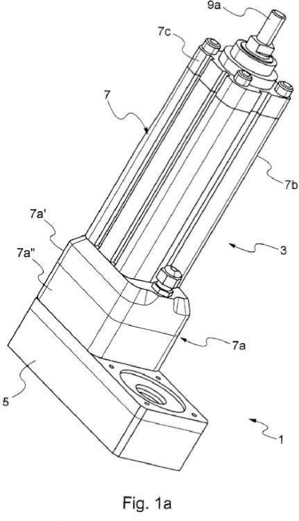 Cilindro eléctrico provisto de un dispositivo de detección de carga.