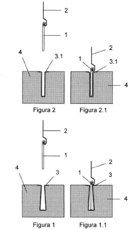 Dispositivo de seguridad para persianas y puertas de cierre vertical.