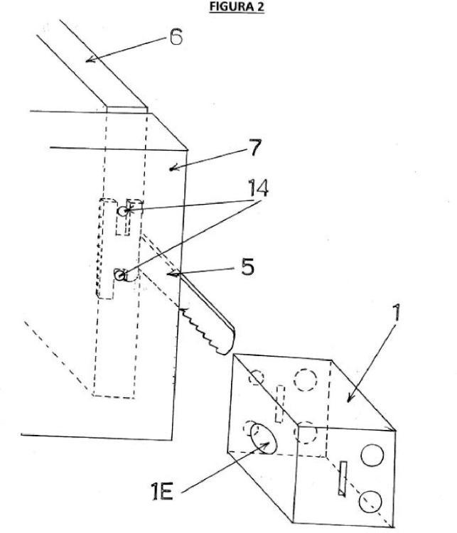 Ilustración 2 de la Galería de ilustraciones de Cerradura de cremallera desmontable para puertas y cajones de muebles