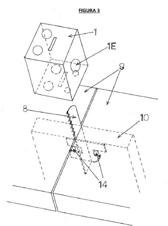Ilustración 3 de la Galería de ilustraciones de Cerradura de cremallera desmontable para puertas y cajones de muebles