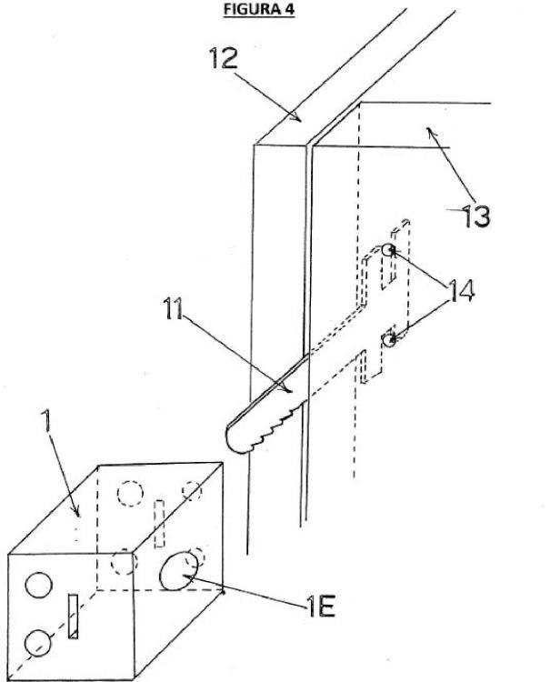Ilustración 4 de la Galería de ilustraciones de Cerradura de cremallera desmontable para puertas y cajones de muebles