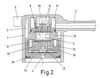 Válvula termostática para circuitos de combustible.
