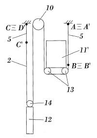 Elementos de suspensión y arrastre de aparatos elevadores y aparato elevador.