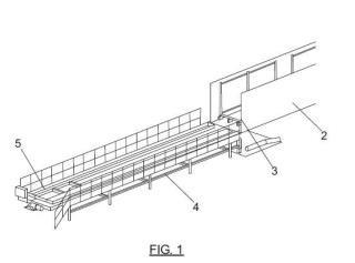 Sistema automático y procedimiento de carga y descarga de contenedores.
