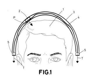 Sistema de medida de electroencefalogramas.