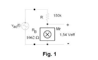 Dispositivo y sistema de medida analógica de potencia eléctrica por magnetorresistencia.
