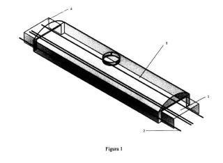 Biodigestor en linea o túnel continuo de mezcla separada para la produccion de biogás.