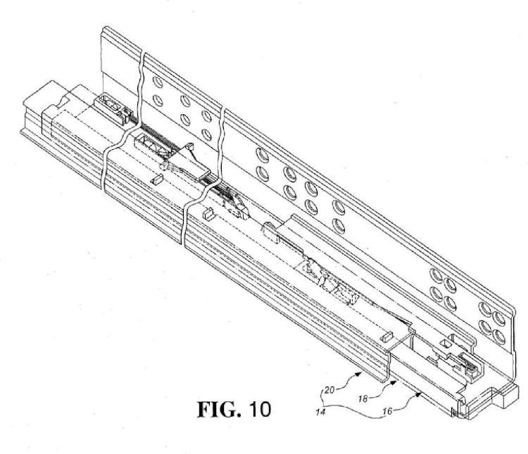 Dispositivo automotor para componentes de muebles móviles.