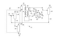 Procesos y aparatos de procesado de hidrocarburos para la preparación de mono-olefinas.