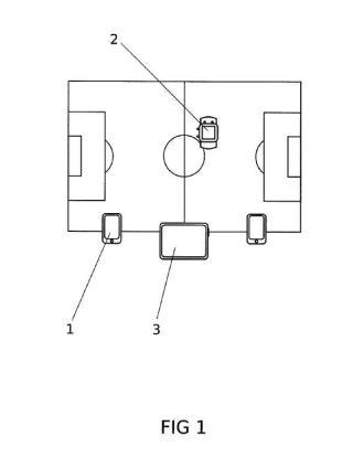 Asistencia al arbitraje de fútbol a través de gadgets electrónicos.