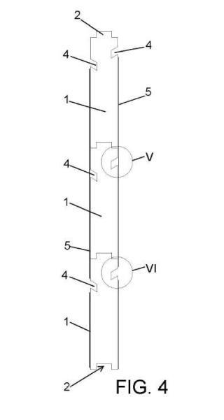 Método de formación de cerramientos verticales.