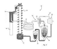 Métodos y sistemas de concentración de potencia solar con material de cambio de fase líquido-sólido para transferencia de calor.