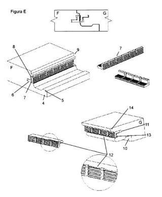 Dispositivo de anclaje para la cabeza de los pavimentos.