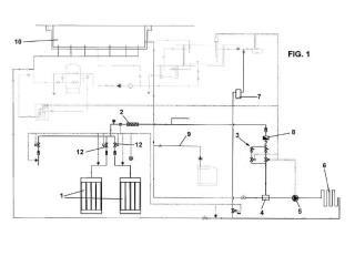 Sistema de inyección de dióxido de carbono para el tratamiento de agua.