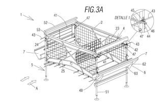 Sistema modular para el alojamiento y cría de aves.