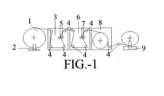 Procedimiento para la realización de un soporte plano impreso, con caracteristicas antideslizantes, a una o ambas caras, y producto así obtenido.