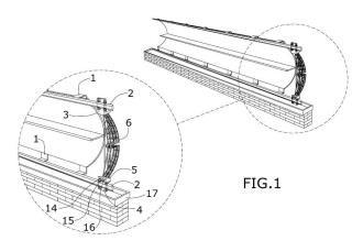 Equipo de limpieza de superficies de generación de energía solar.