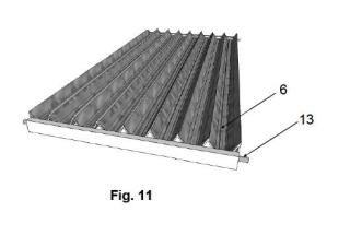 Panel solar tridimensional térmico o fotovoltaico con holografía incorporada.