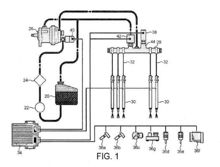 Inyector de combustible y método para controlar inyectores de combustible.