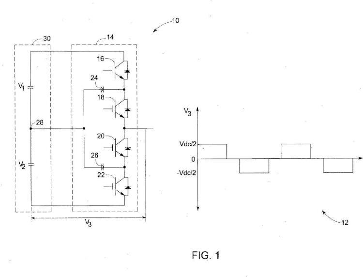 Sistema y procedimiento de protección de un convertidor multinivel.