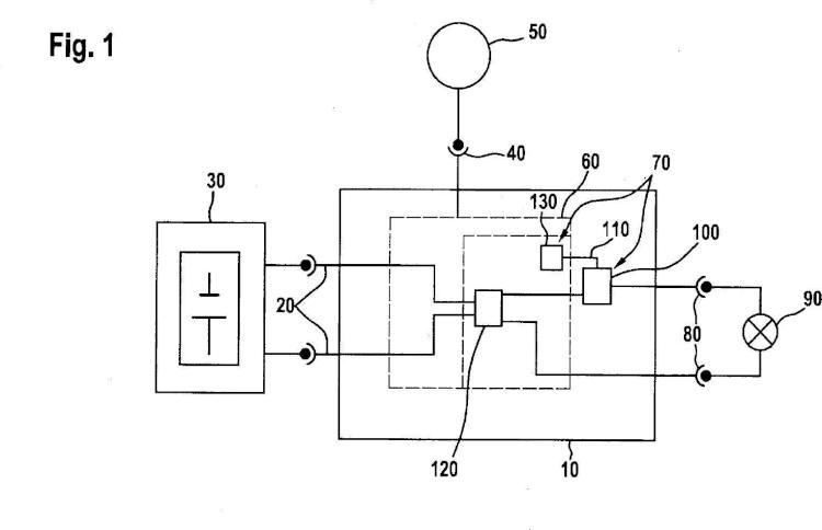 Aparato de control para el control de un accionamiento eléctrico de una bicicleta eléctrica y procedimiento para la alimentación de cargas eléctricas de dicha bicicleta.